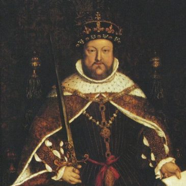 Henry Vlll is crowned King
