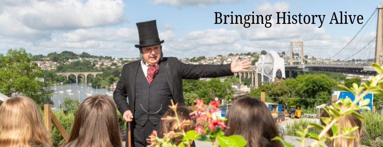 Brunel at the bridges of Saltash