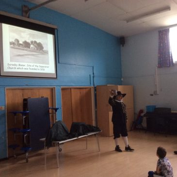 Mayflower Workshop at Plymouth Primary School
