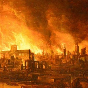 The Great Fire of London September 2nd 1666